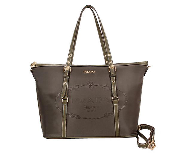 Prada Shoulder Bags Nylon BL8503 Dark Green