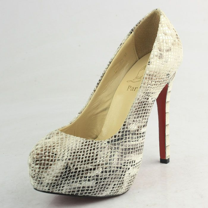 Christian Louboutin Platforms CL9737 Gray