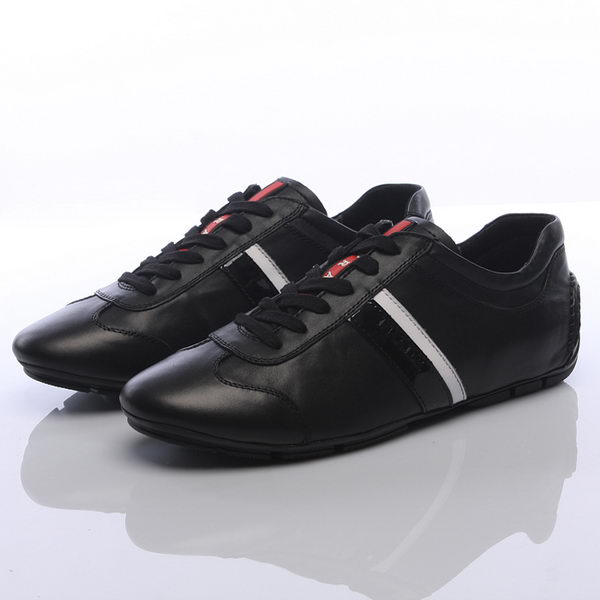 Prada Calf Leather Men Shoe PD311 Black