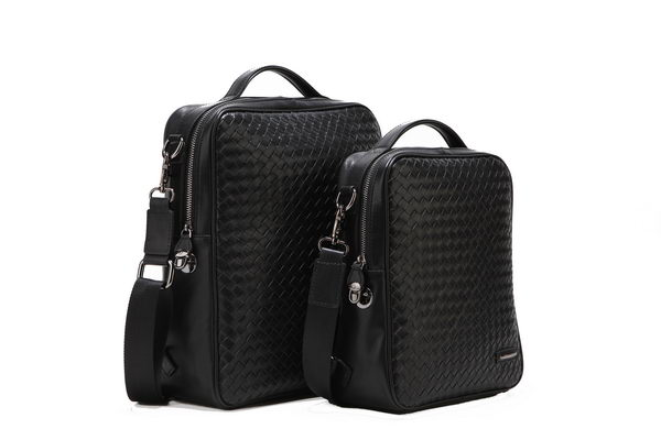 Bottega Veneta Intrecciato VN Backpack Shoulder Bag 51623 Black
