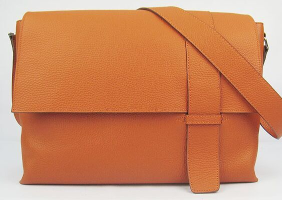 Hermes Alfred Bag Calfskin Leather 2815 Orange