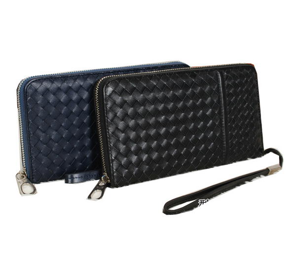 Bottega Veneta Intrecciato Nappa Zip Around Wallet BV8538