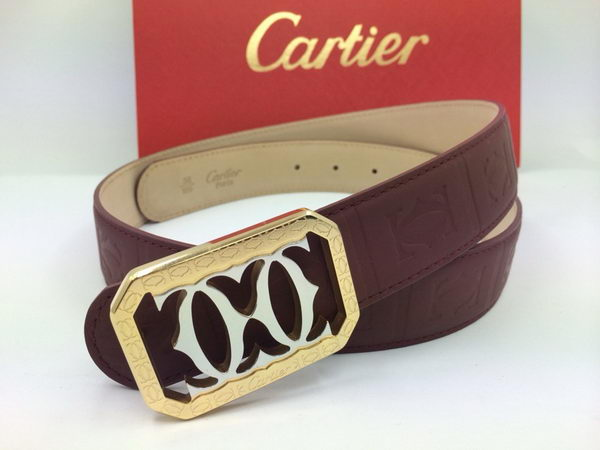 Cartier Belt KA2001 Vermilion