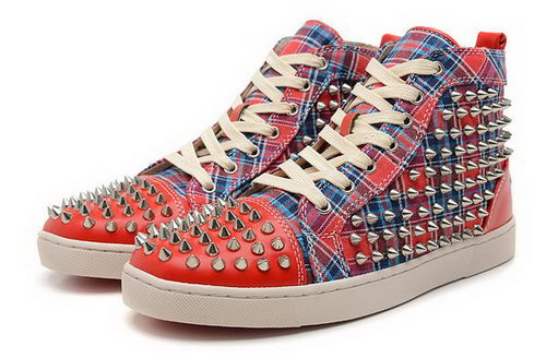 Christian Louboutin Casual Shoes Jean Jacket CL882 Red