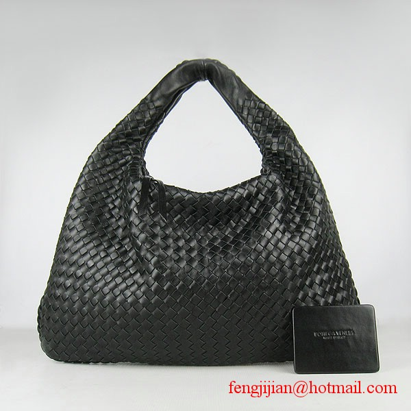 Fashion Bottega Veneta Lambskin Bag Woven 78918 Black