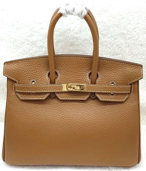 Hermes Birkin 25CM Tote Bag Original Leather H25T Wheat