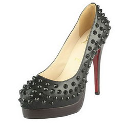 Christian Louboutin Alti 130mm Studded Pumps Black