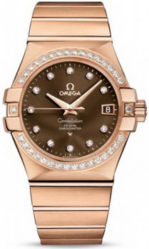 Omega Constellation Chronometer 35mm Watch 158629E
