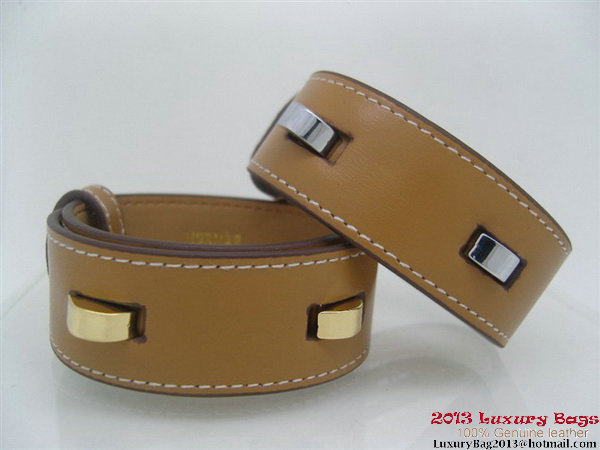 Hermes Genuine Leather Bracelet H1131_1