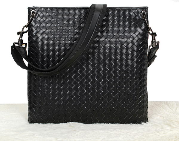 Bottega Veneta Cross Body Messenger Bag 9630 Black