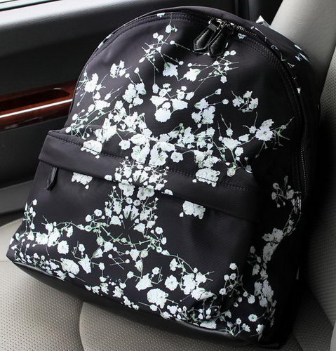Givenchy Nylon Fabric Backpack G1151C Black