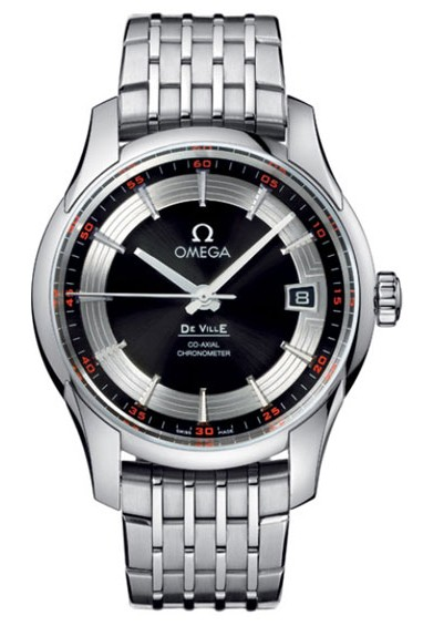 Omega De Ville Hour Vision Stainless Steel Mens Wristwatch 431.30.41.21.01.001
