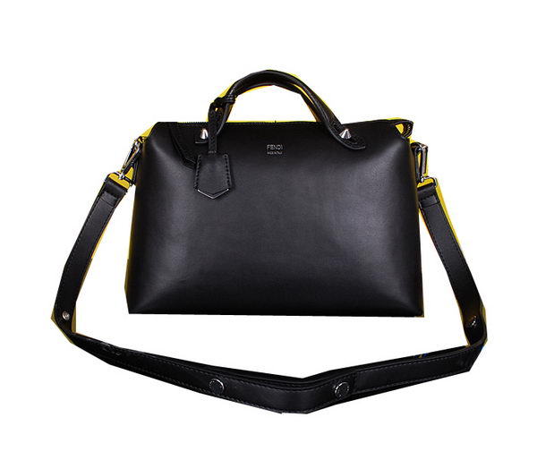 Fendi Fall Winter 2015 Tote Bags Calfskin Leather FD2351 Black
