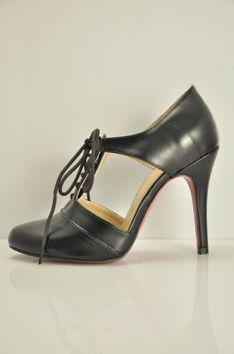 Christian Louboutin Popi Lace-Up Ankle Boots