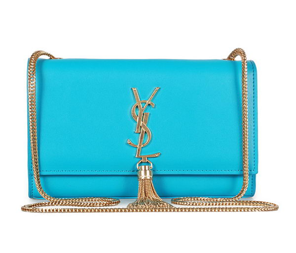 Yves Saint Laurent mini Monogramme Cross-body Shoulder Bag 326076 SkyBlue