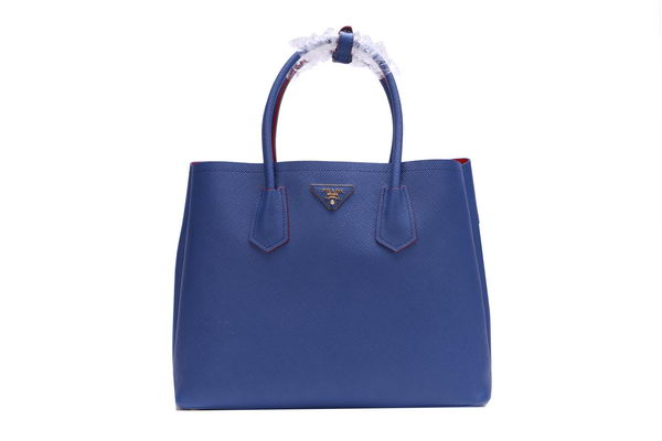 Prada BN2756 Royal Saffiano Calfskin Leather Tote Bag