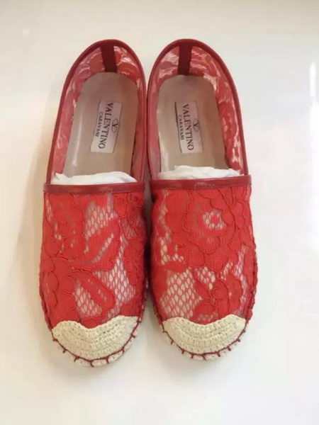 Valentino Casual Shoes Lace VT546 Red