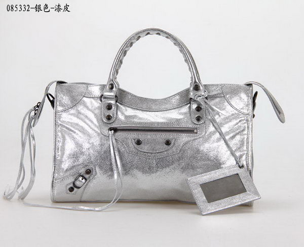 Balenciaga Large Classic Part Time Bags B085332 Silver