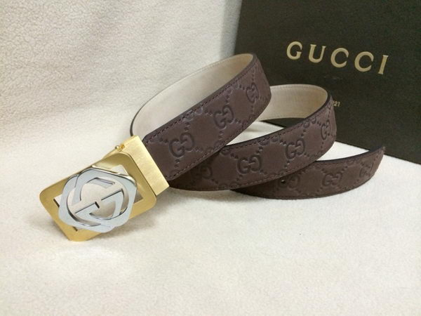 GUCCI Belt GI1388A Brown