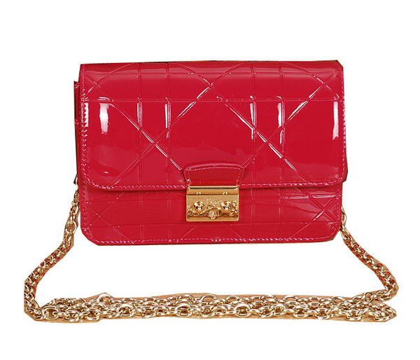 Christian Dior Diorling Embellished Shoulder Bag D6366 Rose