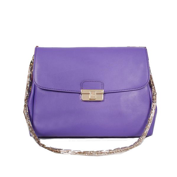 Dior DIORLING Bag in Calf Leather D52281 Purple
