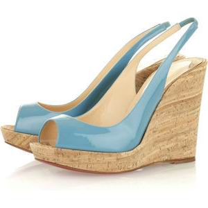Christian Louboutin Jean Paul 120 Wedge Sandals