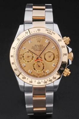Rolex Daytona Mechanism Golden Surface Watch-RD3880