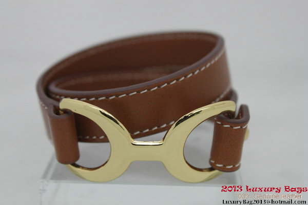 Hermes Genuine Leather Bracelet H1139_9