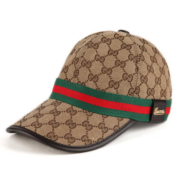 Gucci Hat GG14 Apricot&Brown