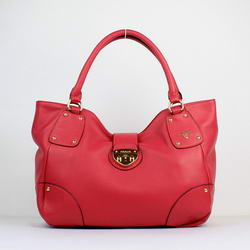 Prada Tote Bag Milled Leather YZ-8031 Rose