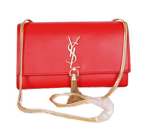 Yves Saint Laurent Monogramme Cross-body Shoulder Bag Y7130 Red