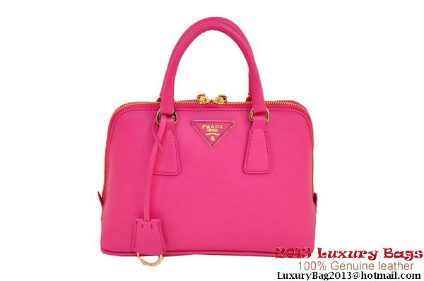 Prada Saffiano Two Handle Bag 25cm BL0838 Rose