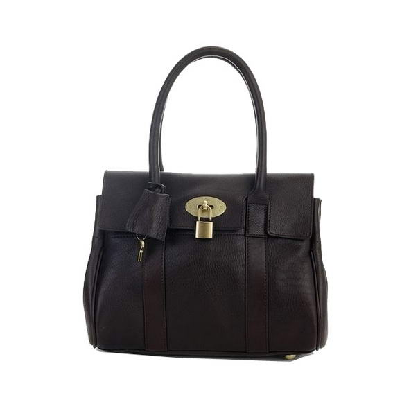 Mulberry Bayswater Small Tote Bag M6895S Brown