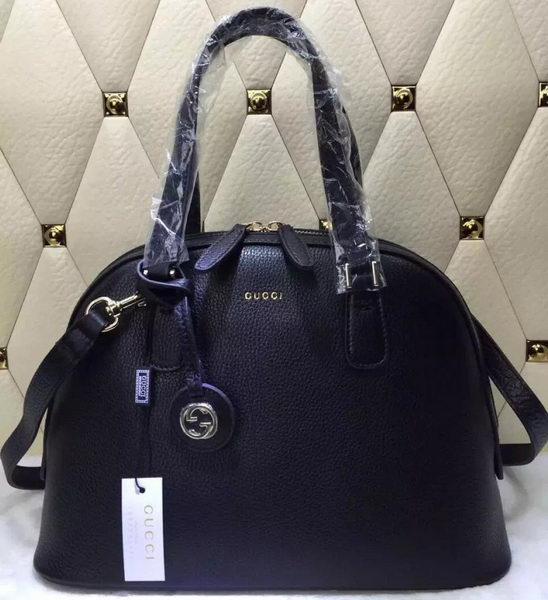 Gucci Calfskin Leather Tote Bag 388560 Black