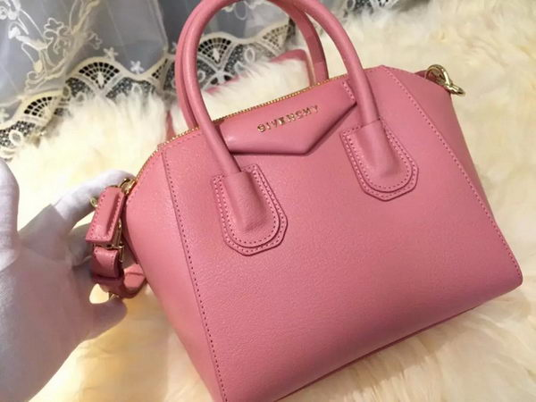 Givenchy mini Antigona Bag Goat Leather G1900 Pink