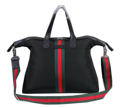 Gucci Canvas Top Handle Bag 80625 Black