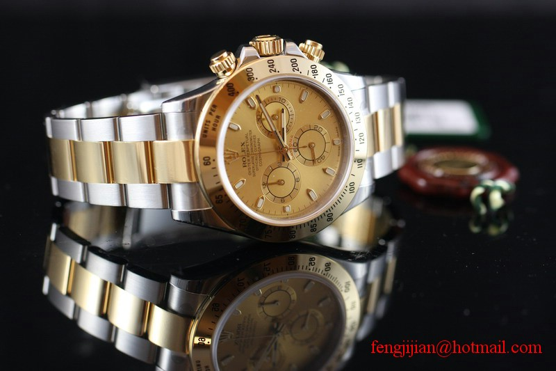 Rolex Steel Gold Cosmograph Daytona Watch 116523-78593