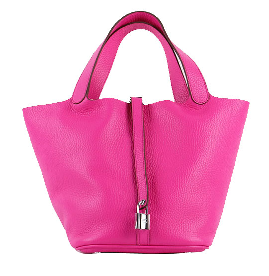 Hermes Picotin Lock MM Bag in Original Leather H8616 Rose