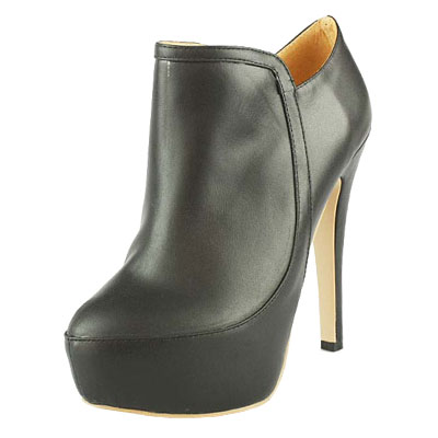 Jimmy Choo 140mm Lambskin Leather Ankle Boots Black