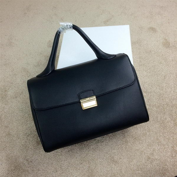 Celine Top Handle Bag Original Leather C20135L Black
