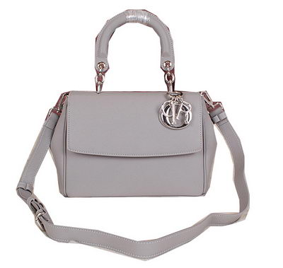 Dior Be Dior Flap Bag Grainy Leather CD0322 Grey