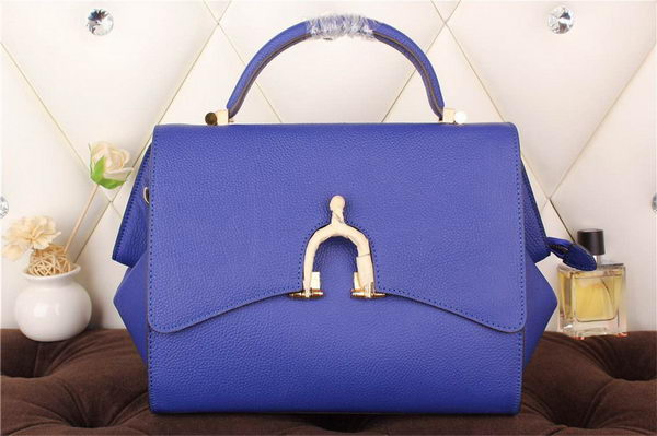 Hermes Stirrup Top Handle Bag H30560 Royal