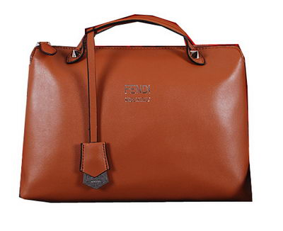 Fendi BY THE WAY Bag Calfskin Leather FD2353 Wheat
