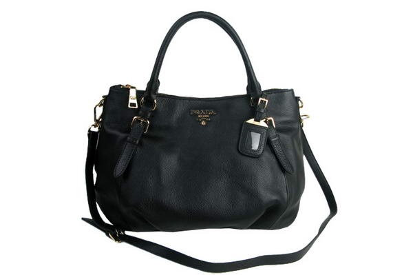 Prada Original Calfskin Tote Bag BR4328 Black