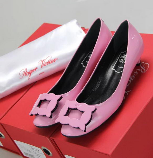 Roger Vivier Patent Leather RV283 Pink