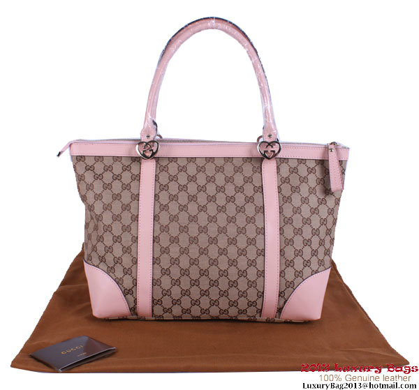 Gucci Lovely Small Tote Bags 257069 Pink