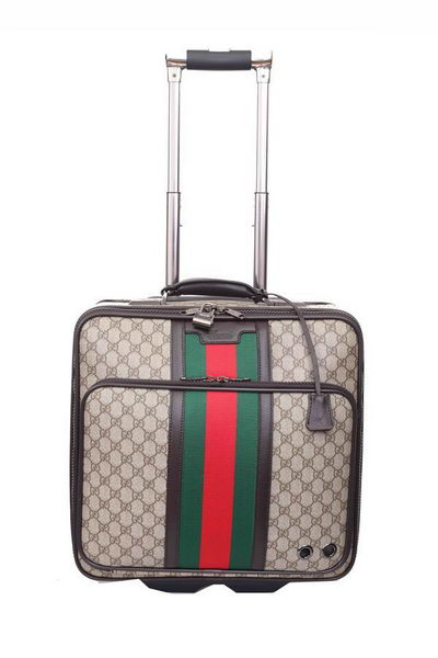 Gucci Luggage Travel Carry-on Luggage 246459 Brown