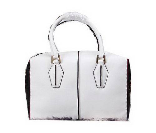 Tods Sella Small Bowler Bags 88760 White