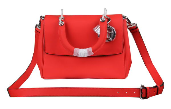 Dior Be Dior Flap Bag Nappa Leather CD99018L Red