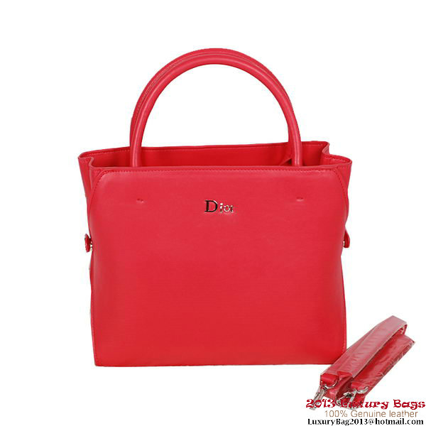 Dior DiorBar Medium Top Handle Bag Calfskin DR0906 Rose